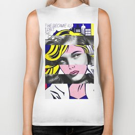Roy Lichtenstein & Lauren Bacall Biker Tank