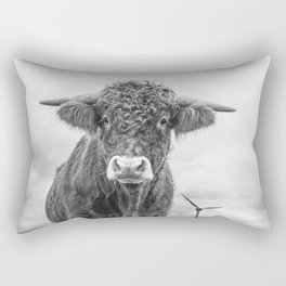 Size Is Relative Rectangular Pillow
