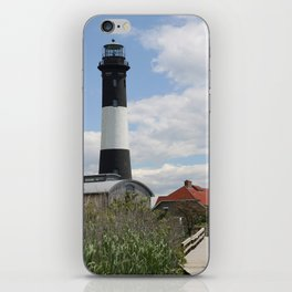 Walkway To Fire Island Lighthouse iPhone Skin