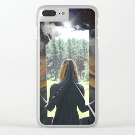 Road to Anywhere Clear iPhone Case