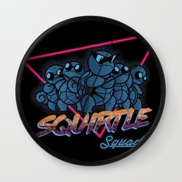 Awesome Squad Wall Clock