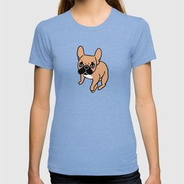The Cute Black Mask Fawn French Bulldog Needs Some Attention T-shirt