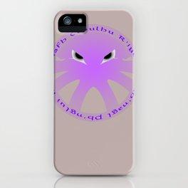 Cthulu Roundel iPhone Case