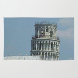 Leaning Tower of Pisa Rug