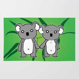 Koala Love Rug