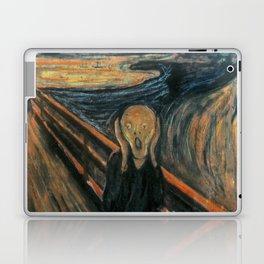 The Scream by Edvard Munch Laptop & iPad Skin