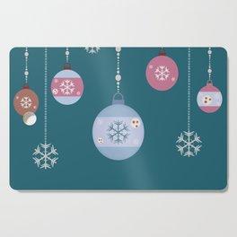 Winter Ornaments Cutting Board