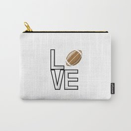 Love Football Carry-All Pouch