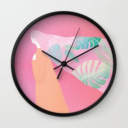 A Midsummer Fantasia Wall Clock