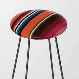 BEAUTIFUL MEXICAN SERAPE Counter Stool