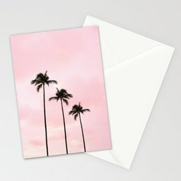 Palm Tree Photography Peach | Blush Pink | Millennial Pink | Miami Stationery Cards