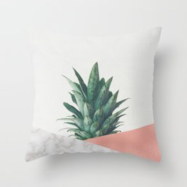 Pineapple Dip VI Throw Pillow