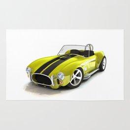 Cobra Roaster Yellow Black Strip Rug