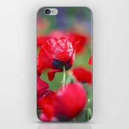 Field of lovee iPhone Skin