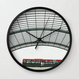 Amsterdam Centraal Train Station #3 Wall Clock
