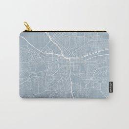 Syracuse Map, USA - Slate Carry-All Pouch
