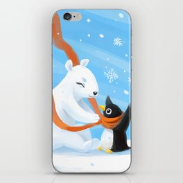 Uncle Bear iPhone Skin