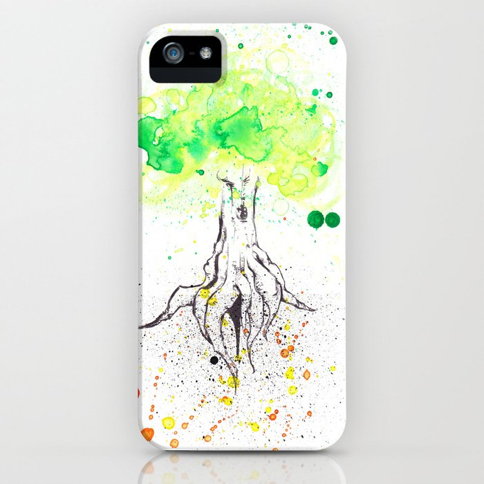 Rooted in Everything iPhone Case