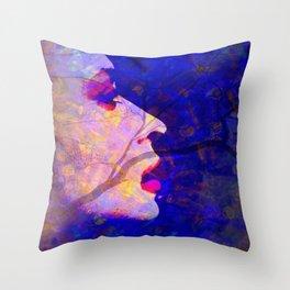 Face it Throw Pillow