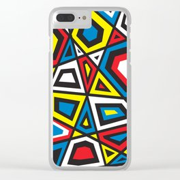 Primary colors 7 Clear iPhone Case