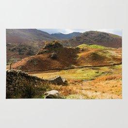 Castle Howe landscape Rug