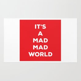 It's A Mad Mad World Rug