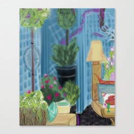 Garden room Canvas Print