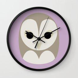 Pūce Wall Clock