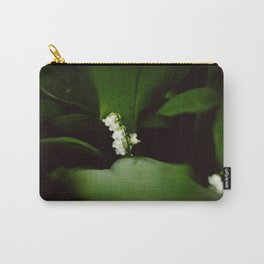 Dramatic Lilly of the Valley Carry-All Pouch