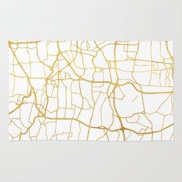 JAKARTA INDONESIA CITY STREET MAP ART Rug