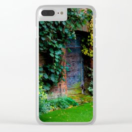 Lewis Carroll's Garden Clear iPhone Case