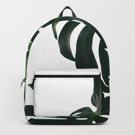 Monstera Leaf Print, Backpack
