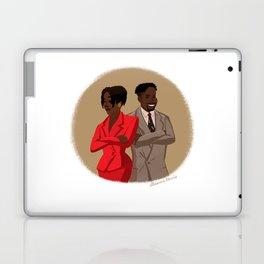 Maxine Shaw and Kyle Barker / Living Single Laptop & iPad Skin