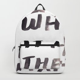 150226 Typography 57 Backpack