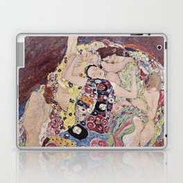 Gustav Klimt - The Maiden Laptop & iPad Skin