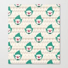 Tingle pattern Canvas Print