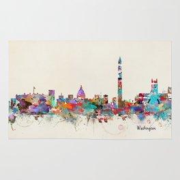 Washington dc skyline Rug