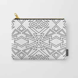 Geometric Design Carry-All Pouch