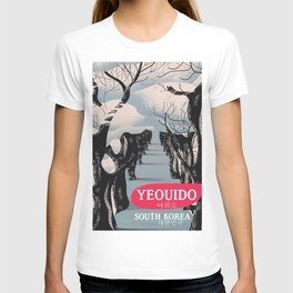 Yeouido South Korea travel poster T-shirt