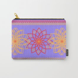 Stylized flowers Carry-All Pouch