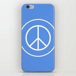 WORLD PEACE iPhone Skin