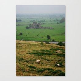 Hore Abby, Ireland Canvas Print
