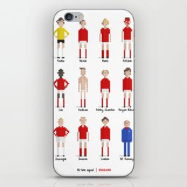 England - All-time squad iPhone Skin