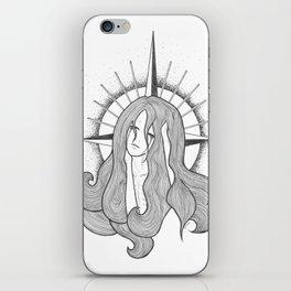 St. Alexandra in Tears iPhone Skin