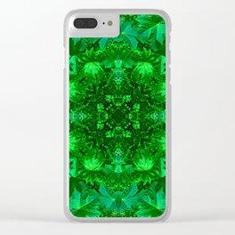 Archangel Raphael Healing Mandala Clear iPhone Case