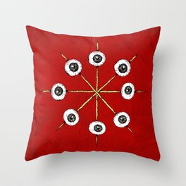 Circle of Hell Throw Pillow