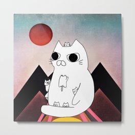 cat mountain 240 Metal Print