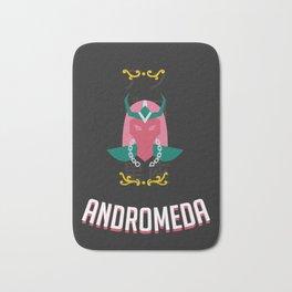 The Saint of the Dark Andromeda Bath Mat