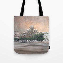 View from the Neva Tote Bag