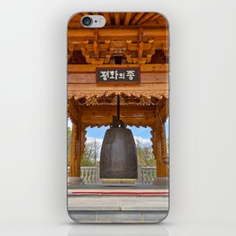 Korean Bell Building iPhone Skin